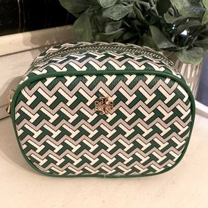 NWT T ZAG COSMETIC POUCH EMERALD